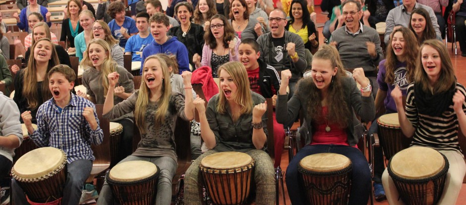 djembe workshop scholen