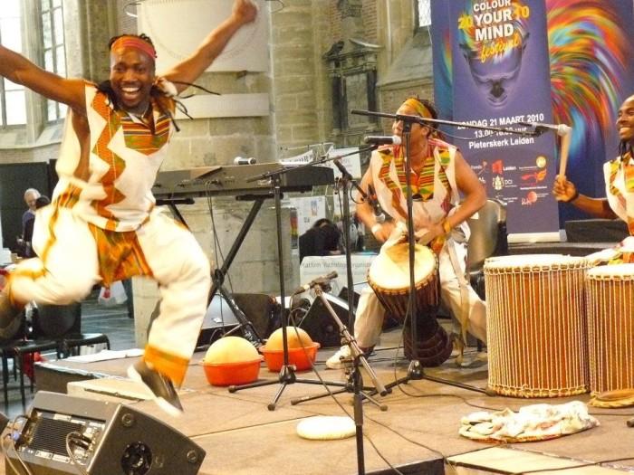 Afrikaans optreden