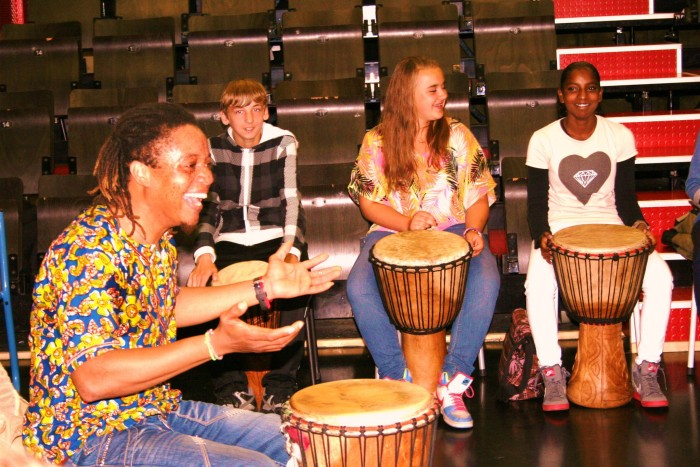 djembe workshop middelbare school