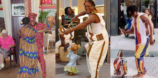 afrikaanse marionetten