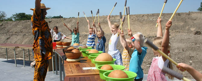 waterdrum workshop kinderen